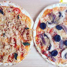 La dieta ALEA - blog de nutrición y dietética, trucos para adelgazar, recetas para adelgazar: Pizza light y fácil en 10 minutos