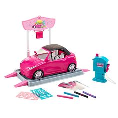 "Barbie Car Wash Design Studio -  Mattel - Toys""R""Us"