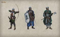 Tribal Wars 2 Einheiten 1 groß. Quelle-InnoGames
