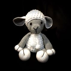 A personal favourite from my Etsy shop https://www.etsy.com/au/listing/264809755/cuddly-lamb-in-amigurumi-crochet-style