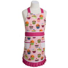 Kids cup cake apron