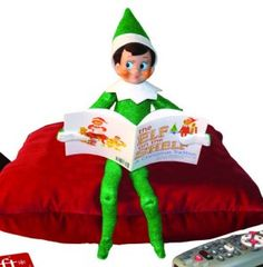 """I like the elf on shelf idea, but with so much to do on Christmas, it can get to be """"another thing"""" Here's an idea for st paddy's day/week... have a green leprechaun that does """"tricks"""" over night...leave gold coins etc... like elf on shelf... could even let kids make up tricks for him and take turns."""