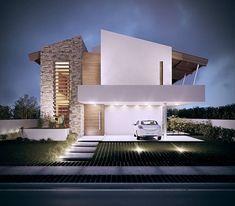 Casas de estilo Tropical por Martins Lucena Arquitetura