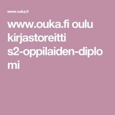 www.ouka.fi oulu kirjastoreitti s2-oppilaiden-diplomi