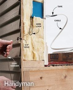 The best way to Add an Outside Outlet.  Learn even more by checking out the image link