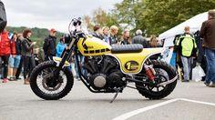 "Racing Cafè: Yamaha XV 950 ""M7#001-TWINS"" by Yamaha Motor 7"