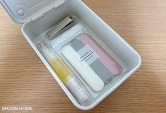 無印良品のスチール工具箱のブログ画像 Phone, Telephone, Mobile Phones