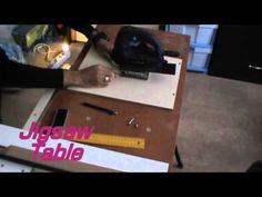 Multifunction Table Make-PART 2-Table saw, Router table, Plane table, Jigsaw table. - YouTube