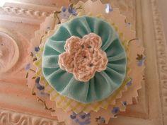 Fabric Flower Embellishment