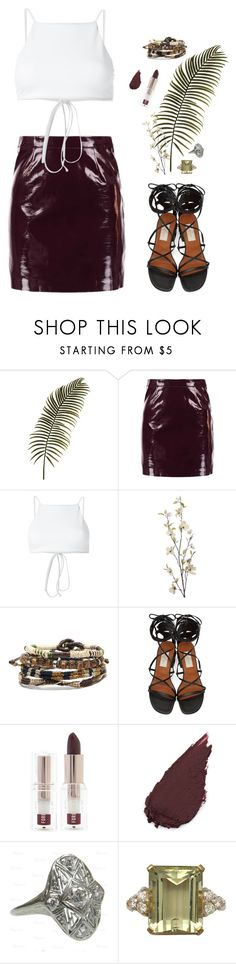 """""""Everyone knows its us two forever"""" by runwayrobes ❤ liked on Polyvore featuring Miss Selfridge, Ack, Pier 1 Imports, Valentino and Forever 21"""