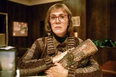Halloween costume - The Log Lady from Twin Peaks.