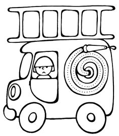 Vehicle coloring pages for babies 8