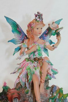 Faerie Poppets by Christine Haworth - By Shimmering Waters | eBay