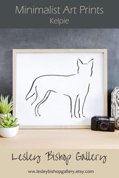 Looking for the perfect dog lover gift?  This minimalist design art print will    delight any dog owner.   It's also a    thoughtful pet loss gift.  The art    print can be personalised with a pet's name or any other text.    There are many dog breeds to choose    from.  Click through to see our shop to    see them all.    #doglovers #personalizedgifts #dogmomgifts    #blackandwhite Best Dog Gifts, Dog Mom Gifts, Gifts For Dog Owners, Gifts For Pet Lovers, Dog Lovers, Dachshund Art, Dachshund Gifts, Monochromatic Decor, Dog Outline
