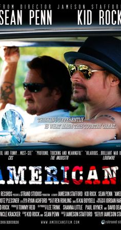 """Directed by Jameson Stafford.  With Sean Penn, Kid Rock, Bianca Siavoshy, Rod Simmons. """"Americans"""" is a short, public service film starring 'Sean Penn' and Kid Rock, directed by Jameson Stafford. The goal of the film is to tear down the one-dimensional political stereotypes portrayed by the media by confronting them head on. It reminds us that what really matters is that we're all Americans, with diverse thoughts, opinions and stances on issues. We are millions of unique, ..."""