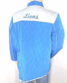 NFL Detroit Lions Womens Blue Jacket XXL New w/Tags