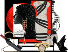 """""""Dramatic Design"""" by lindacaricofe on Polyvore"""