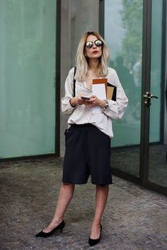 The Sartorialist – cullotes The Sartorialist, Style Work, Her Style, Street Style Blog, Street Chic, Street Wear, Dress Vestidos, Womens Fashion, Fashion Trends