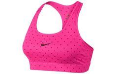 Женский Спортивный топ / бра Nike Pro Core Bra Pink купить Киев - интернет-магазин KievSport.com.ua