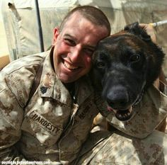 Two brave friends so happy together! #militarydogs #herodogs #dogs
