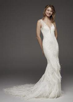 41a733146072 Pronovias Wedding Dresses - Hereux Abito Da Sposa Boho