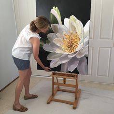 Signed, sealed and soon to be delivered Fabric Painting, Artist Painting, Diy Painting, Stained Glass Flowers, Acrylic Art, Painting Inspiration, Floral Watercolor, Flower Art, Canvas Wall Art