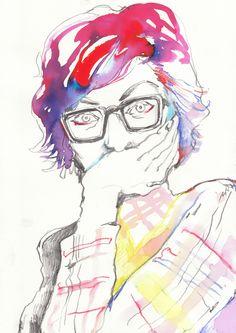 Sketches - Natsuki Otani Illustration