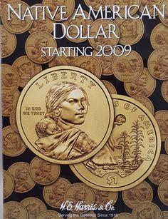 Native American Dollar Starting 2009 Coin Album