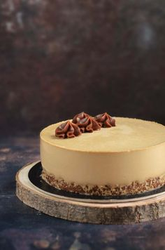 Mousse Cake, Cheesecakes, Cake Designs, Panna Cotta, Ethnic Recipes, Sweet, Food, Caramel, Candy