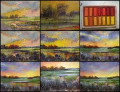 How to use oil paints with pastels per Karen Margulis