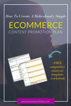 Looking for a content promotion plan, & a competitive analysis template so you can create a killer ecommerce marketing strategy? Then you need to read this. Marketing Tactics, Business Marketing, Online Marketing, Marketing Ideas, Promotion Marketing, Affiliate Marketing, Business Tips, Marketing Strategy Template, Content Marketing Strategy
