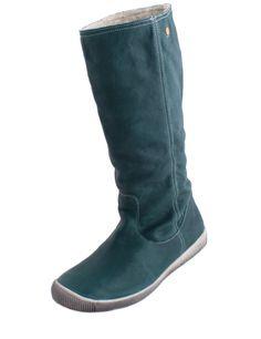 Softinos Ida  grün-blau