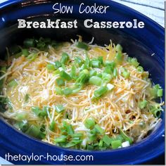 This easy slow cooker recipe is a must make for Sunday morning brunch or busy weekdays when you want breakfast ready when you get up without all the work.