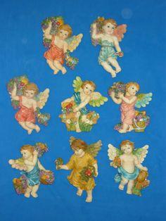 .:: MUNDO ARTESANAL- Productos ::. Angel Ornaments, Christmas Ornaments, Tall Christmas Trees, Stencils, 18th Century, Museum, Ely, Painting, Ceramics
