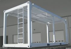 Container House - Container House - Shipping Container Bones Who Else Wants Simple Step-By-Step Plans To Design And Build A Container Home From Scratch? - Who Else Wants Simple Step-By-Step Plans To Design And Build A Container Home From Scratch? Shipping Container Buildings, Shipping Container Design, Cargo Container Homes, Container Shop, Building A Container Home, Container Cabin, Container House Plans, Container House Design, Shipping Containers