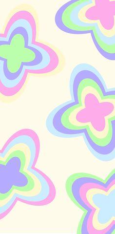 Pastel Butterfly Butterfly Wallpaper