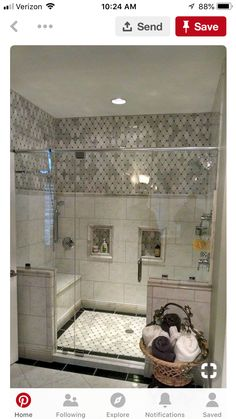 Building a Walk In Shower | Bathroom | Pinterest | Construction cost on