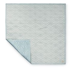 camcam baby quilt mint