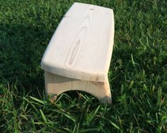 Handgemaakte meditatie bankje  ZenWork. Licht hout