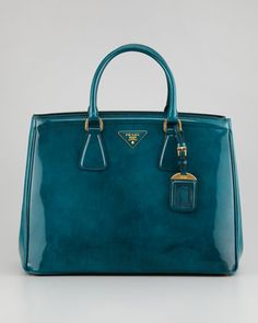 Large Double-Handle Tote Bag by Prada