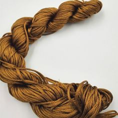 25M Candy Color Cotton Cord String For Jewelry DIY