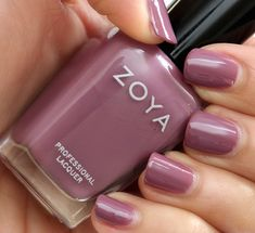 Zoya Nail Polish in Odette | via Makeup and Beauty Blog