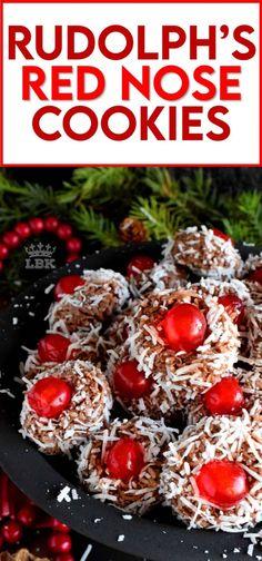 Reindeer Cookies, Holiday Cookies, Holiday Baking, Christmas Desserts, Holiday Treats, Christmas Treats, Christmas Baking, Christmas Recipes, Apple Cookies