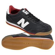 New Balance 360 Retro Trainer Black Red White Logo - New Balance 360