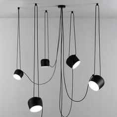 Nordic Led Pendant lamp with Iron Art Amparas,Ceativity of Modern Pendant Light for Dining Room Decoration Hanging lamp Multi Light Pendant, Led Pendant Lights, Ceiling Pendant, Pendant Lighting, Ceiling Lights, Pendant Lamps, Chandelier Lighting, Lighting Store, Modern Hanging Lights