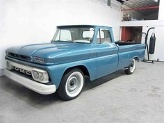1964 GMC C/K 10 located in California for sale | Listing ID: CC-1063843 | ClassicCars.com | #DriveYourDream | Classic Gmc, Classic Trucks, Classic Cars, Vintage Pickup Trucks, Trucks Only, Crate Engines, Gmc Pickup, Chevy C10, Chevy Trucks