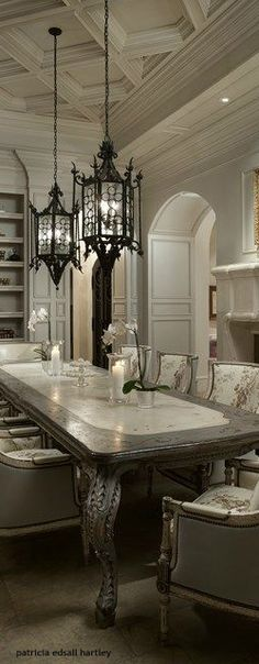 ❥...~Dining Rooms~...❥ from my board: https://www.pinterest.com/shellycjordan/~dining-rooms~/.