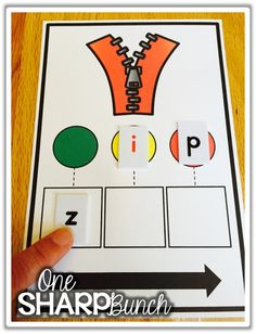 Phoneme segmentation & blending made easy with these tips and tricks for small group instruction! Check out One Sharp Bunch's color coded trick for teaching directionality and segmenting! Teaching Phonics, Phonics Activities, Kindergarten Literacy, Literacy Centers, Early Literacy, Teaching Resources, Teaching Ideas, Zoo Phonics, Kindergarten Addition