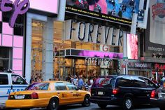 Visit the Forever 21 in Times Square
