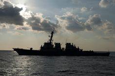 The USS Ramage cruising the Mediterrean Sea. #Navy #USNavy #AmericasNavy navy.com